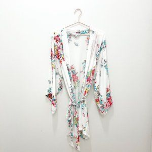 FLORAL ROBE IN BLOOM BY JONQUIL SIZE XS